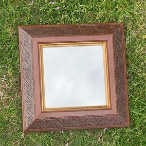 Small Vintage Wall Mirror